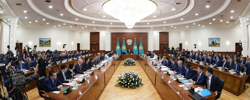 The Head of State held extended meeting of Kazakhstan's Cabinet